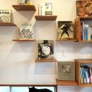 G阿佐ヶ谷の写真 キャットステップにはお気に入りの本を飾って、インテリアも忘れずに。