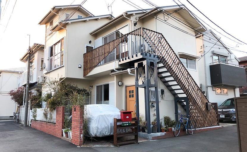 外観事例:猫が楽しく暮らせる家にリノベーション(G阿佐ヶ谷)