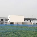 ミニマルデザインのハコ型の家の写真 外観