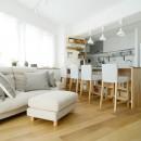 『無印な住まい』 ― 家具を部屋に溶け込ませての写真 LDK