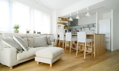 LDK|『無印な住まい』 ― 家具を部屋に溶け込ませて