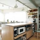 『無印な住まい』 ― 家具を部屋に溶け込ませての写真 キッチン