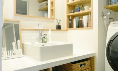 洗面台|『無印な住まい』 ― 家具を部屋に溶け込ませて