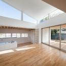 番田の住宅の写真 1階LDKスペース photo:吉田誠