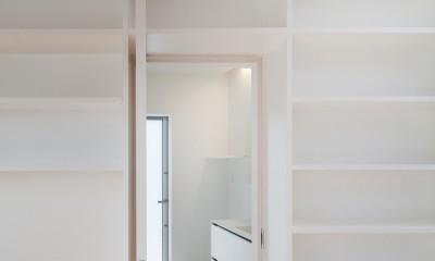 番田の住宅 (洗面脱衣室)