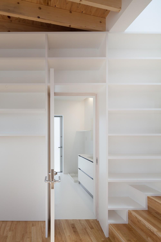 バス/トイレ事例:洗面脱衣室(番田の住宅)