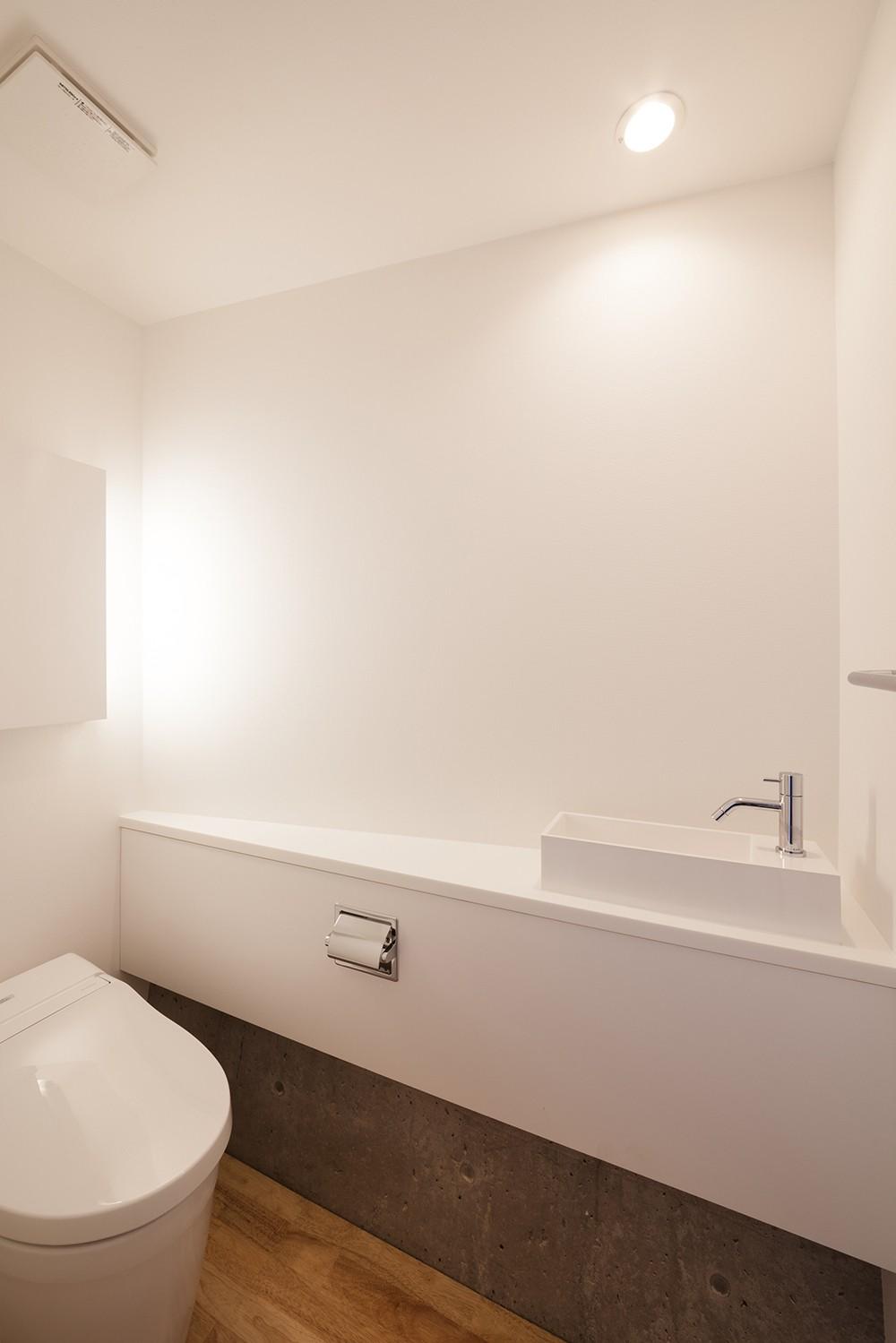 番田の住宅 (トイレ)