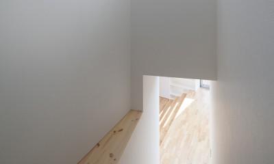 番田の住宅 (階段)