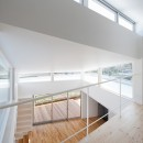 番田の住宅の写真 2階吹抜け上部