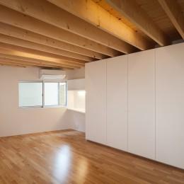 番田の住宅 (寝室)