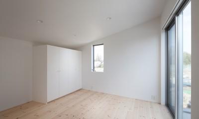 番田の住宅 (2階 子供部屋)