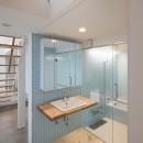 豪徳寺の住宅の写真 1階洗面脱衣室、浴室