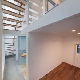 豪徳寺の住宅 (1階寝室)
