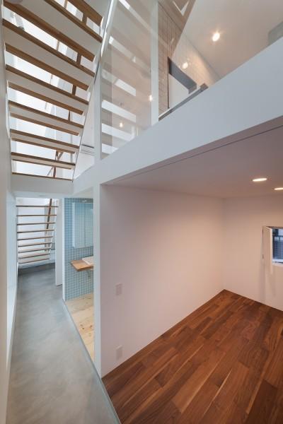 1階寝室 (豪徳寺の住宅)