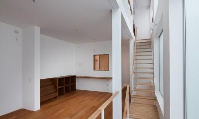 豪徳寺の住宅 (2階リビング、ダイニング)