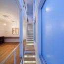 豪徳寺の住宅の写真 階段