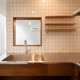 豪徳寺の住宅 (2階キッチン)