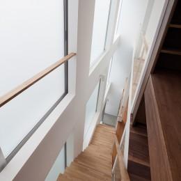 豪徳寺の住宅 (階段)
