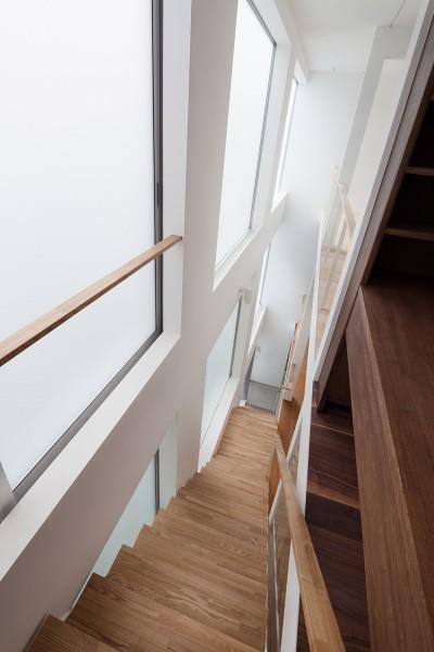 階段 (豪徳寺の住宅)