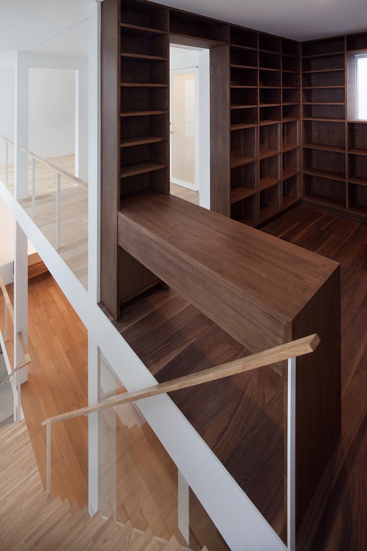 豪徳寺の住宅 (3階書斎スペース)