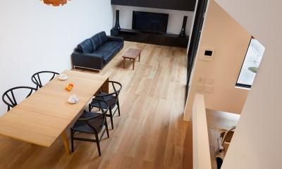 野沢の住宅 (1階リビング、ダイニング)
