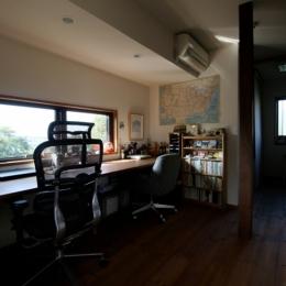 懐かしい新しさをつくる 和のリノベーション(木造1戸建てリノベーション) (書斎)