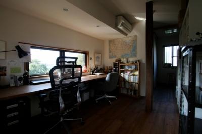 書斎 (懐かしい新しさをつくる 和のリノベーション(木造1戸建てリノベーション))