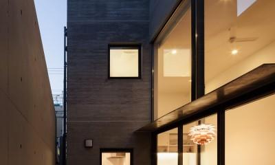 野沢の住宅 (1階テラス)