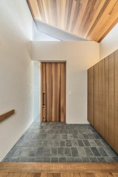 吹抜け玄関 (滝田の家)