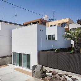 名古屋の住宅 (外観)