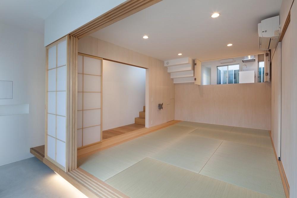名古屋の住宅 (1階和室)