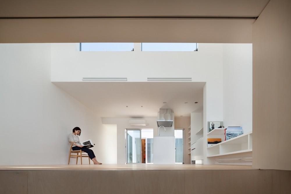 名古屋の住宅 (1階LDKスペース)