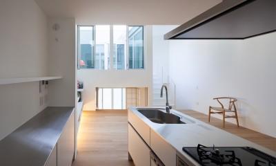名古屋の住宅 (1階キッチン)
