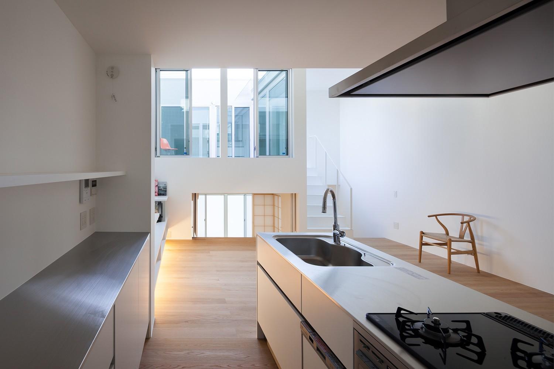 キッチン事例:1階キッチン(名古屋の住宅)