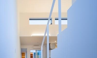 名古屋の住宅 (階段)