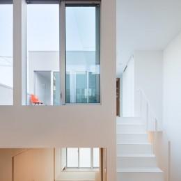 名古屋の住宅 (2階テラス)