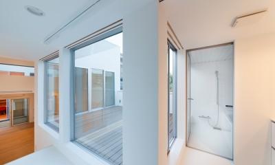 名古屋の住宅 (2階浴室)
