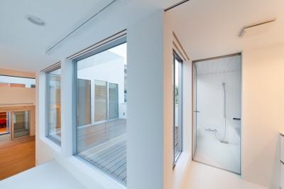 2階浴室 (名古屋の住宅)