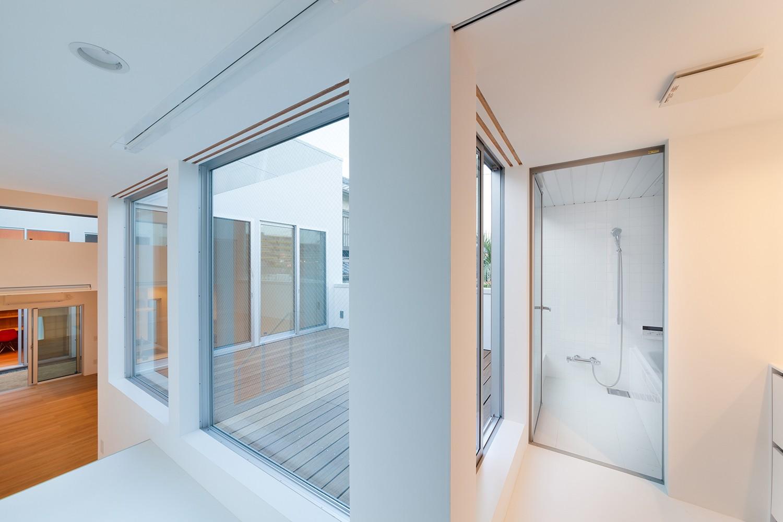 バス/トイレ事例:2階浴室(名古屋の住宅)