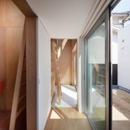 名古屋の住宅 (1階書斎)