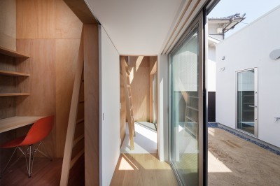 1階書斎 (名古屋の住宅)