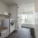 五日市の家の写真 開放感のある浴室