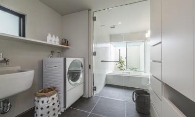 五日市の家 (開放感のある浴室)
