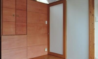 寝室|家族のびのび大空間:自然素材の家