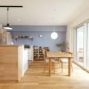 住友林業のリフォームの住宅事例「築10年のマンションを購入し、間取りと内装を好みやライフスタイルに合わせて一新。思い通りの住まいに。」