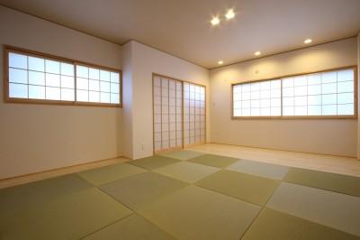 仏間室 (「バリアフリー」と「心地よさ」をかなえた シニア向けリフォーム:コンクリート住宅のリノベーション)