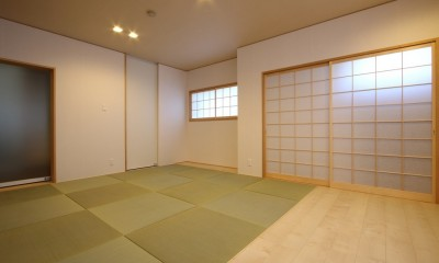 「バリアフリー」と「心地よさ」をかなえた シニア向けリフォーム:コンクリート住宅のリノベーション (仏間室2)