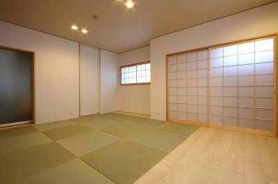仏間室2 (「バリアフリー」と「心地よさ」をかなえた シニア向けリフォーム:コンクリート住宅のリノベーション)