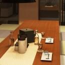 家族の変化に対応した『高床和室』を設けたマンション リフォームの写真 ダイニングテーブル