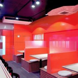 中華店舗付き住宅の改装:デザインリフォーム (店舗付き住宅の1階店舗ー1)